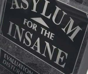 asylum and insane image