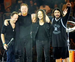 metallica, James Hetfield, and lars ulrich image