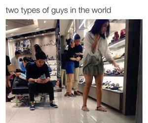 funny, couple, and guys image