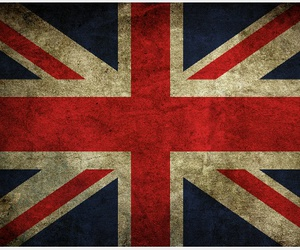 england, flag, and london image
