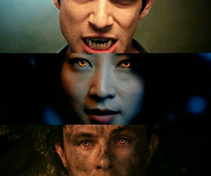 teen wolf, kira, and scott image