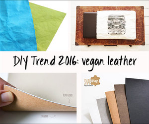 craft, diy, and leather image