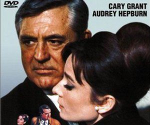 audrey hepburn, cary grant, and charade image