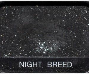 black, night, and makeup image