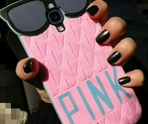 pink, protector, and fundas image