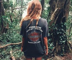 girl, fashion, and nature image