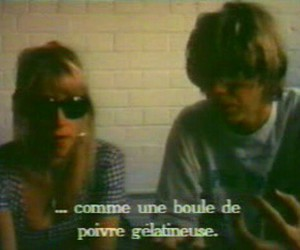 Kim Gordon, sonic youth, and thurston moore image