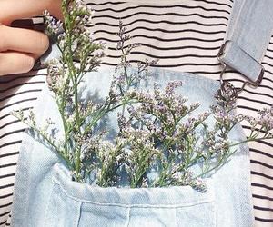 flowers, indie, and pastel image