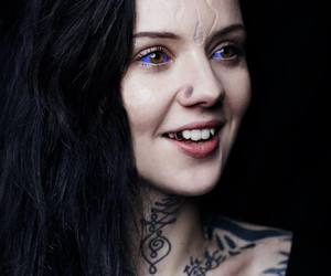 body modifications, body mods, and purple eyes image