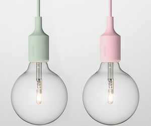 pastel, lamp, and light image