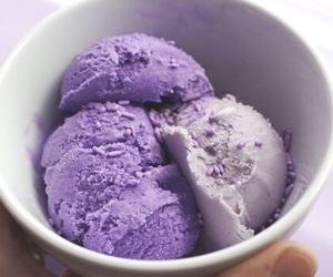 purple, ice cream, and food image