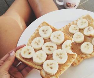 food, banana, and yummy image