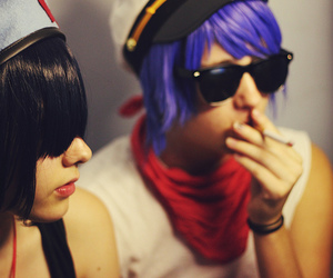 2d, cosplay, and gorillaz image