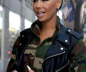 Amber Rose, swag, and amber image