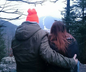 Best, couple, and mountains image