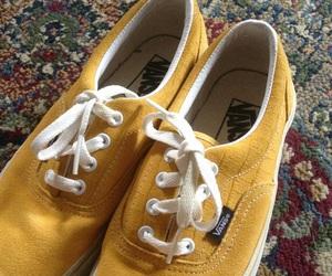 mustard, suede, and vans image