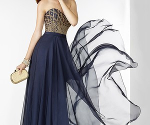 a-line, strapless, and alyce image