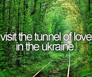 ukraine, bucket list, and love image