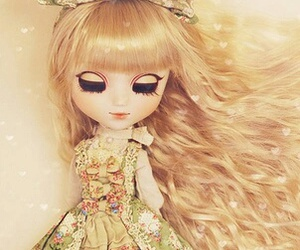 doll, pullip doll, and cute image