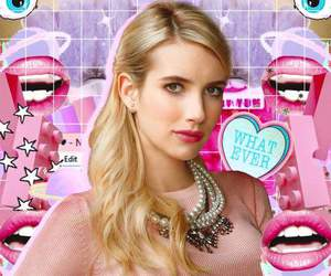 emmaroberts, screamqueens, and leamichelle image