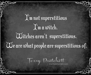 witch and superstition image