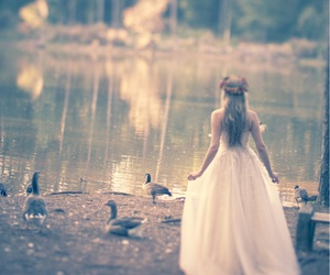 beauty, bridal, and fairytale image