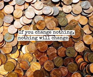 change, quote, and coins image