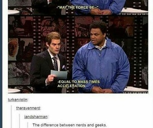 funny, nerd, and geek image