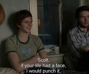 quote, scott pilgrim, and grunge image