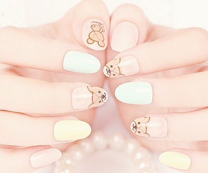 fashion, nails, and cute image