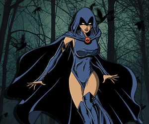 raven, dc comics, and rachel roth image