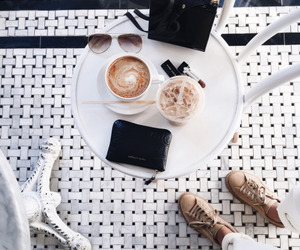 coffee, white, and style image
