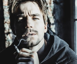 actor, boy, and cigarette image