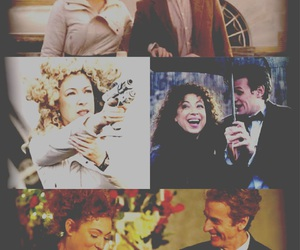 doctor who, 11th doctor, and river song image
