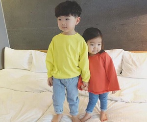 family and korean image