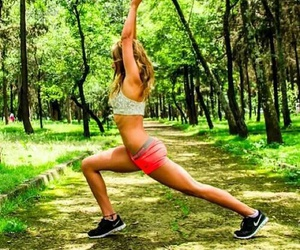 fitness, fit, and sport image