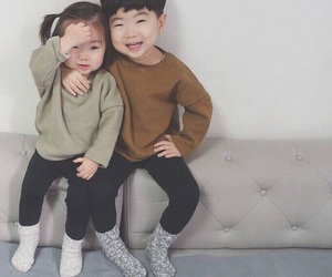 asians, child, and KOREANS image