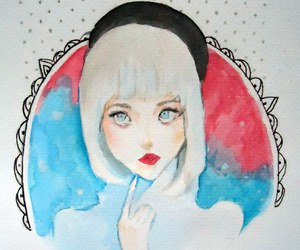 allison harvard, art, and melody image