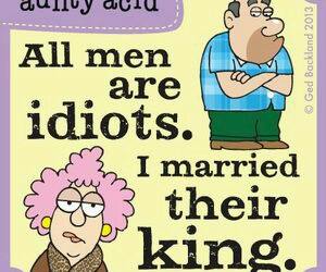 funny, idiots, and king image