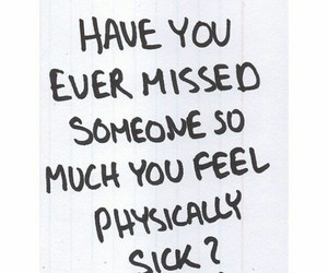 i miss you, missing, and quote image