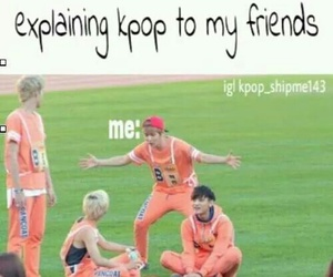 exo, kpop, and funny image
