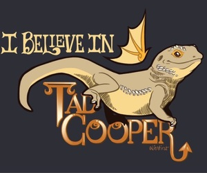 dragon, galavant, and tad cooper image
