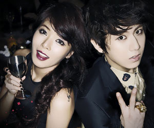 hyuna, beast, and trouble maker image
