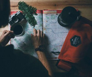 travel, adventure, and coffee image