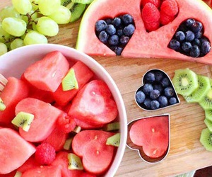 FRUiTS, summer, and food image