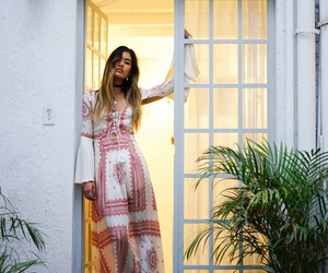bohemian, hypster, and dress image