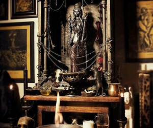 altar, goddess, and hecate image