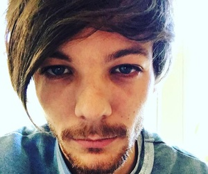 tired, louis tomlinson, and one direction image