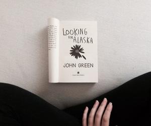 book, john green, and looking for alaska image