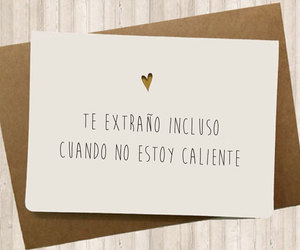 amor, cards, and caliente image